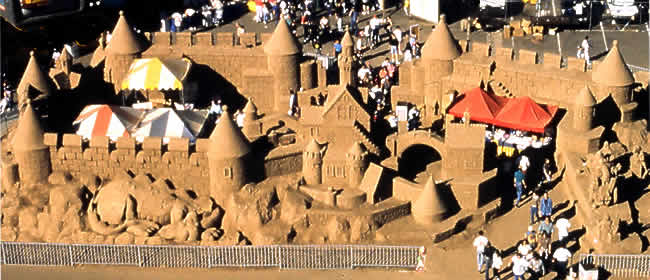 Walkthrough Castle Sand Sculpture
